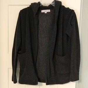 LOFT open hoodie